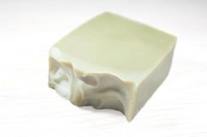 Jabón artesanal de arcilla verde