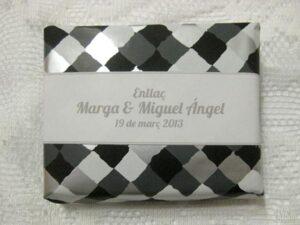 Jabón detalle de boda original Marga y Miguel Angel