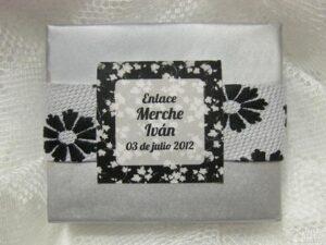 Detalle de boda original Merche e Iván