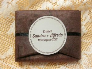Detalle de boda original Sandra y Alfredo