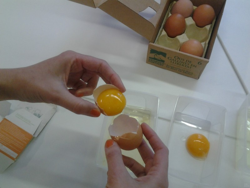 Mascarilla de huevo para pieles secas