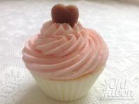bomba de baño cupcake