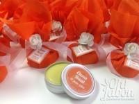 Jabón artesanal y bálsamo labial