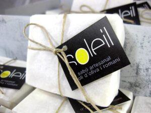 Jabones de romero para la olivarera Oli Soleil