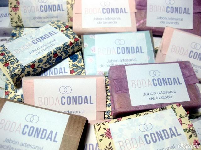 Jabones para la empresa Boda Condal