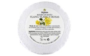 Bomba de baño de Ylang Ylang y Rosas