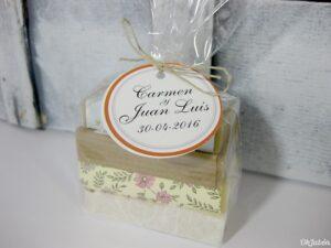 Pack de 4 minijaboncitos detalle de boda