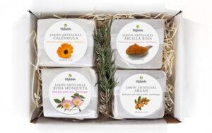 Caja regalo jabones nutritivos premium