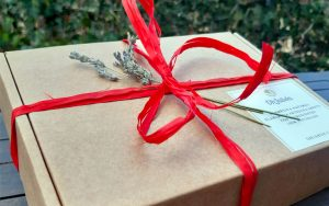 Caja regalo cosmética natural especial San Valentín